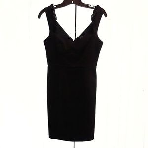 Forever 21 Little Black Dress with Lace Sz S
